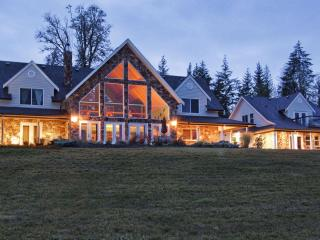 Waterfront suite--kit, balcony--12-acre hobbyfarm - British Columbia vacation rentals