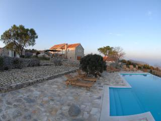 Villa  with Private Pool and Tennis court - Island Scedro vacation rentals