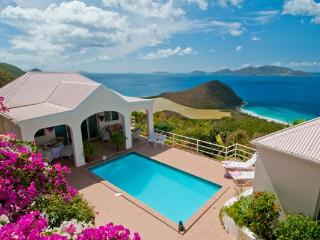 Secluded Caribbean Villa with Spectacular Views - Tortola vacation rentals