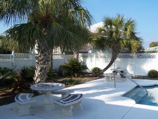 Private, Serene, Pretty  Salt Water Pool, sleeps 8 - Panama City Beach vacation rentals