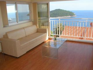 Anabella: spacious 1br apt, incredible sea views! - Dubrovnik vacation rentals