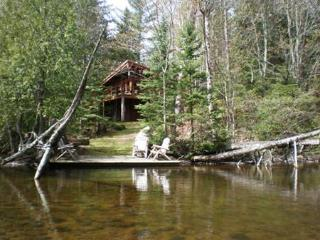 Secluded Brule River, Wisconsin, three BR lodge - Brule vacation rentals