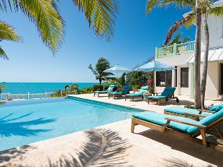 Luxury Overlooking Sapodilla Bay, Steps to Beach! - Turks and Caicos vacation rentals