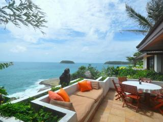 Cape Kata Oceanfront Villa. Walk to Kata Beach ! - Kata vacation rentals