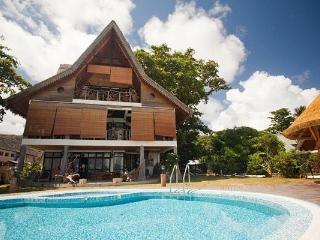 Luxury beachfront villa on La Digue, Seychelles - La Digue Island vacation rentals