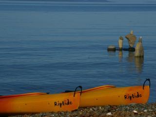 2 bdrm beachfront 3rd nite FREE clam/oyster kayaks - Port Alberni vacation rentals