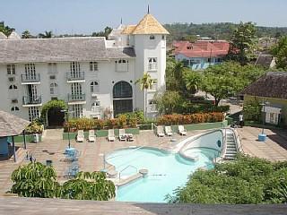 Resort view - Casa Bonita: 2 br penthouse in Ocho Rios, Jamaica - Ocho Rios - rentals