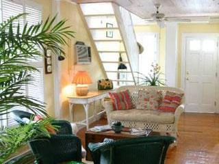 Living Room - Lighthouse View Cigar Makers Cottage Key West - Key West - rentals