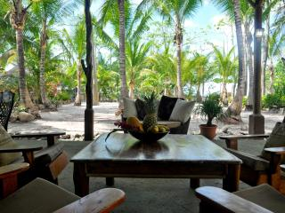 BEACHFRONT PALM VILLA Right at Santa Teresa beach - Santa Teresa vacation rentals