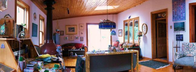 Entrance of the Auberge du Saumonier Lodge - Auberge du Saumonier Lodge - Gaspe - rentals