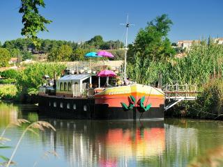 1 B&B cabin aboard  Durandal Barge onCanal du Midi - Villeneuve les Beziers vacation rentals