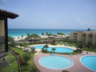 Tropical Penthouse One-bedroom condo - BG532 - Eagle Beach vacation rentals