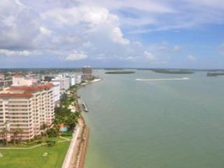 View from balcony - Belize - BEL1901 - Impressive Beachfront Condo! - Marco Island - rentals