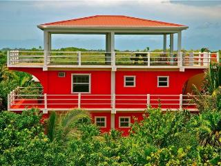 Casa Roja a modern tropical house on Caye Caulker - Caye Caulker vacation rentals