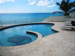 BAHARI... breathtaking sunsets from this fabulous beachfront villa at Shore Point on Cupecoy beach - Cupecoy vacation rentals
