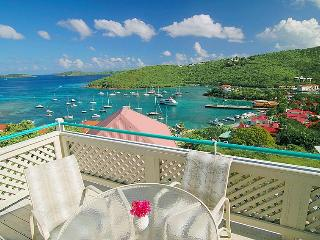 Fabulous sea view 2 bedroom/2 bath St. John Condo - Cruz Bay vacation rentals