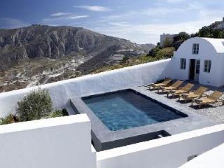 Villa Fabrica - Unique villa, rich with history, with pool & beautiful views - Santorini vacation rentals