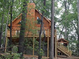 Wooded and Private - The Woodlands Cabin #2 - Bryson City vacation rentals