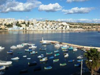 Harbour Lights, Seafront apartment in St Pauls Bay - Malta vacation rentals