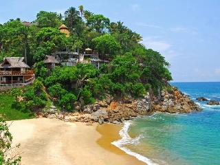 Villa Violeta Stunning Secluded Beachfront w/Chefs - San Pancho vacation rentals