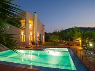 Villa Armonia, luxury holiday villa with sea view - Agia Marina vacation rentals