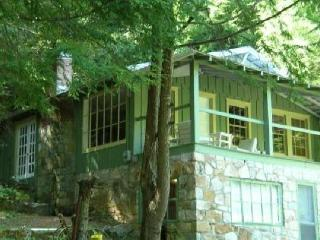 Romantic Daisy Cottage, hot tub, fireplace, porch - Hendersonville vacation rentals