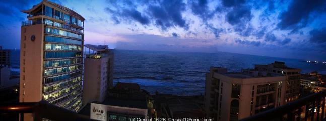 Balcony View - Ocean Front Crescat  Apt - 5* Cinnamon Grand Hotel - Colombo - rentals