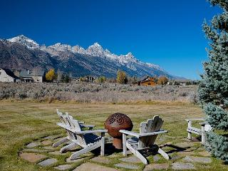 Western elegance, solitude and scenery with majestic Teton views!! - Jackson vacation rentals