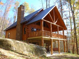Amish Built Log Cabin Hidden on 42 Wooded Acres - Warsaw vacation rentals