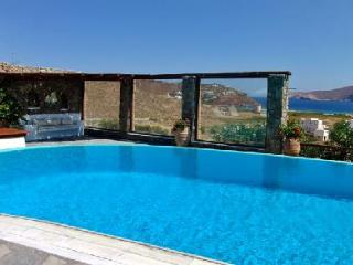 Enchanting Panormos Bay House with sea and hillside views, lush grounds & pool - Zakynthos vacation rentals