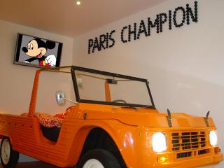 Funky Paris Apartment in Montmartre with Free Car Park - Paris vacation rentals