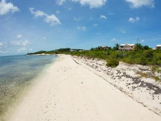 HERON'S RETREAT  Beachfront Villa Long quiet beach - Providenciales vacation rentals