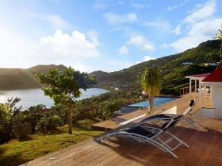 Luminous Summer Breeze with striking hillside & ocean views from infinity pool - Grand Cul-de-Sac vacation rentals