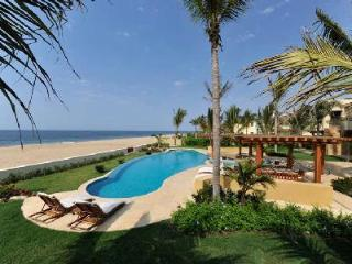 Spacious 15,000 Sq Ft Villa on White Sand Beach Ocean Cove - Villa Nilpi - Nayarit vacation rentals