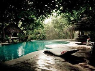 Beachfront Villa Casa Capitan has fabulous grounds, massage area and large staff - Santa Teresa vacation rentals