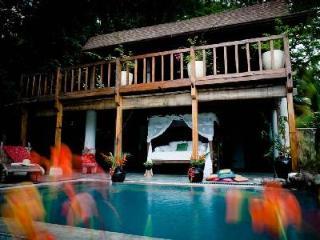 Beachfront Casa Java with Indonesian- modern décor, pool & alfresco shower - Santa Teresa vacation rentals