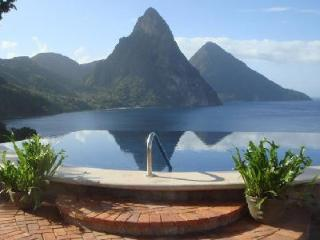 Caille Blanc Villa - Private cliff-side home near beach with 65 ft pool & breathtaking views - Soufriere vacation rentals