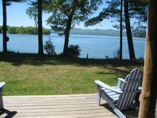 Lake Champlain,  lakefront cottage, mid-Vermont - Lake Champlain Valley vacation rentals
