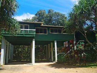 Kauai Tree House: Beautiful Haena home within a gated estate - Hanalei vacation rentals