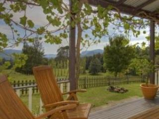 View from the verandah of The Old Homestead - Minimbah Farm Cottages - Kangaroo Valley - Kangaroo Valley - rentals