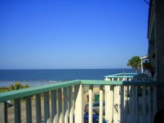 Ocean view perfection: 3 decks+ocean front patio - Tybee Island vacation rentals