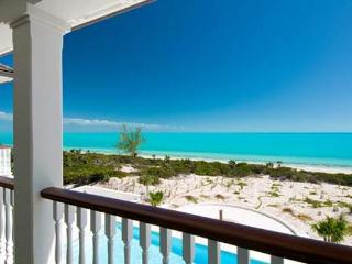 This new, beachfront villa on Long Bay Beach sits on 2.2 acres, for uninterrupted Caribbean Sea vistas. IE LON - Parrot Cay vacation rentals