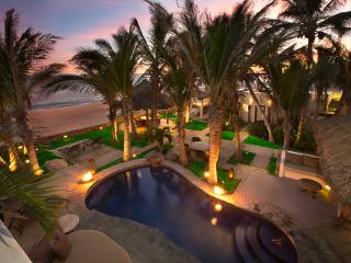 Beachfront Villa: Private Chef, Spa, sleeps 14- 16 - San Jose Del Cabo vacation rentals