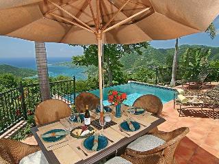 Villa Carolina - HUGE panoramic postcard views! - Coral Bay vacation rentals