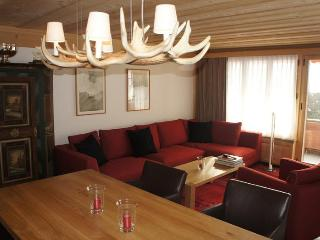 Les Silenes: New luxury 6 bed chalet apt. Gstaad - Gstaad vacation rentals