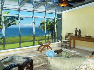 Puu Poa 201: Oceanfront luxury + Bali Hai views AND a/c in this 2000sf condo - Princeville vacation rentals