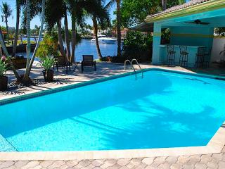 Casa Bella Stunning 4 BD 5.5 BA Waterfront Heated Pool Home! - Pompano Beach vacation rentals