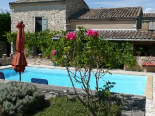La Colombe Bleue in Drome provencale - Colonzelle vacation rentals