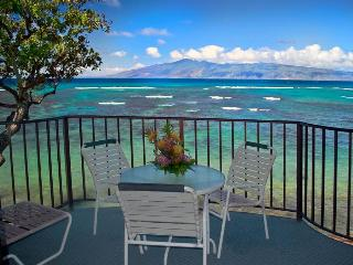 Kahana Reef 317 OCEAN FRONT TRANQUILITY - One Be - Lahaina vacation rentals