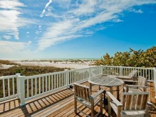 View from deck - SeaDreams - 721 North Shore Dr - Anna Maria - rentals